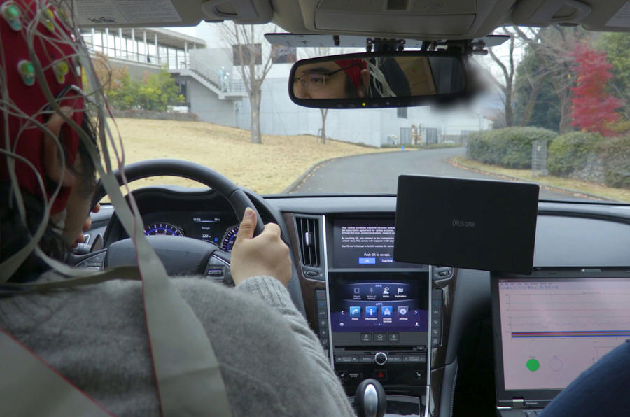 Nissan brain-to-vehicle technology will 'enhance' driving