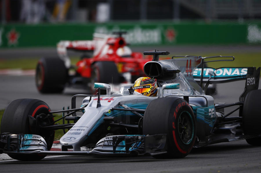 Mercedes has 'given up' points - Hamilton