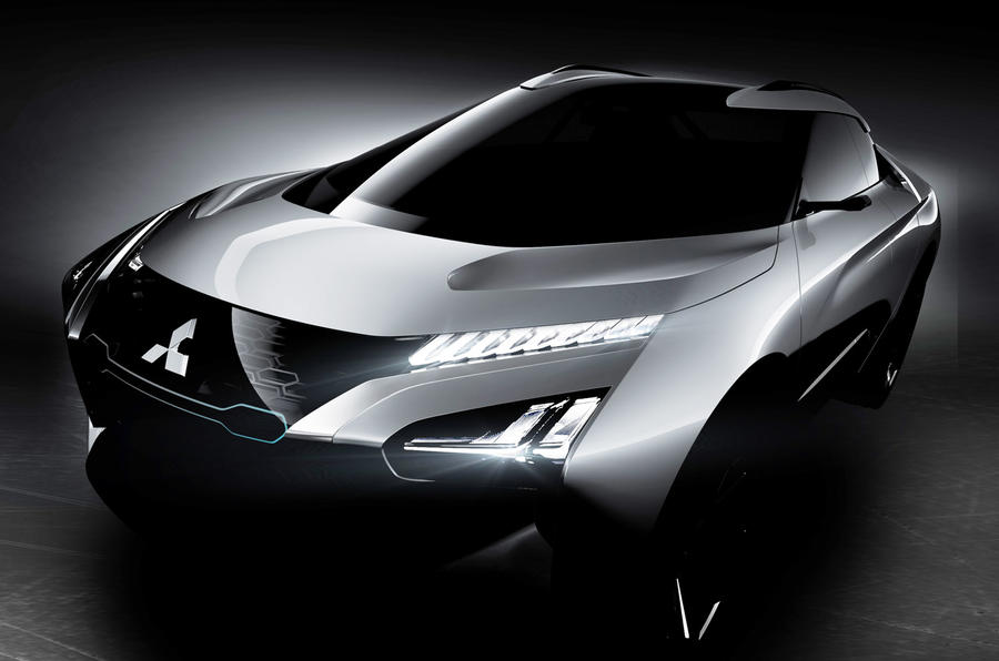 Mitsubishi e-Evolution concept to demonstrate artificial intelligence