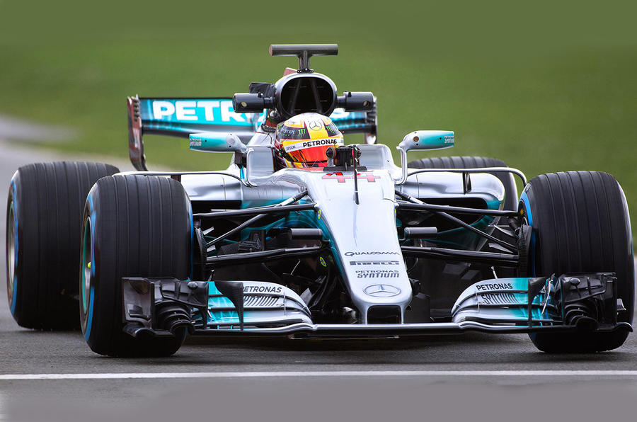 Mercedes-AMG F1 W08 – 2017 challenger launches EQ Power+ brand