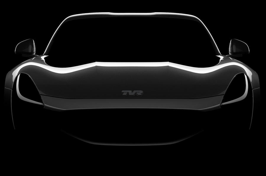 200mph TVR super coupe pic released before Goodwood Revival reveal