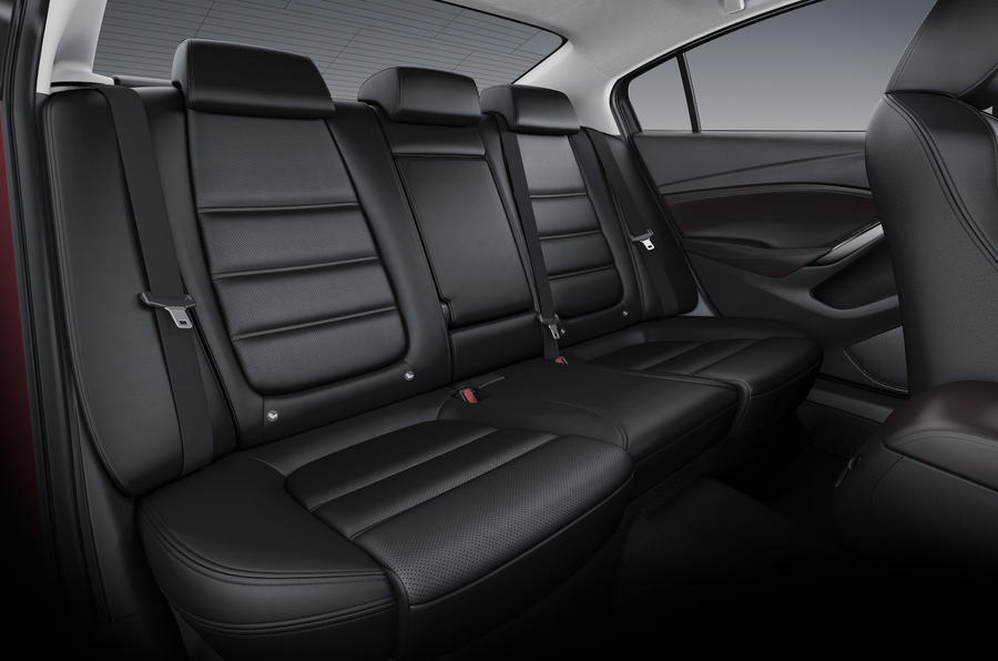Mazda 6 Tourer rear seats
