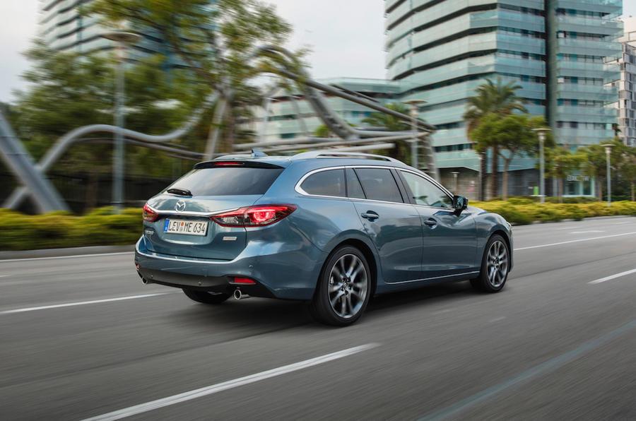 Mazda 6 Tourer rear