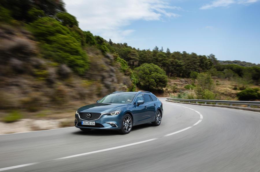 Mazda 6 Tourer cornering