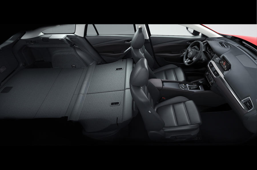 Mazda 6 Tourer seating flexibility
