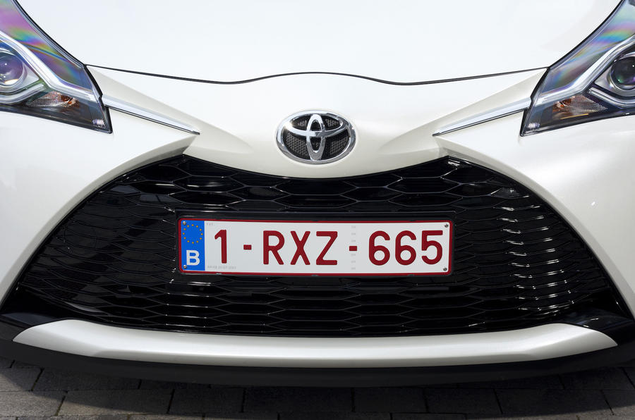 Toyota Yaris front grille