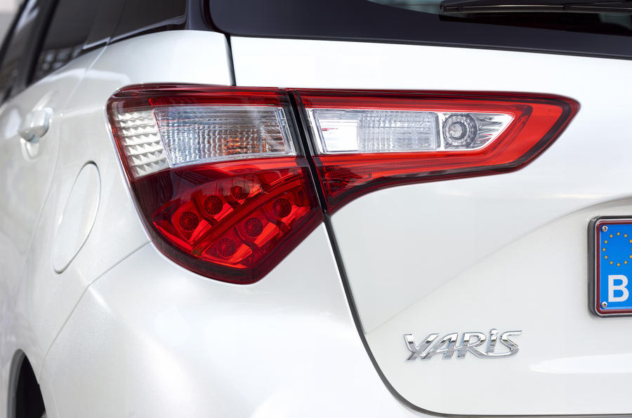 Toyota Yaris rear light