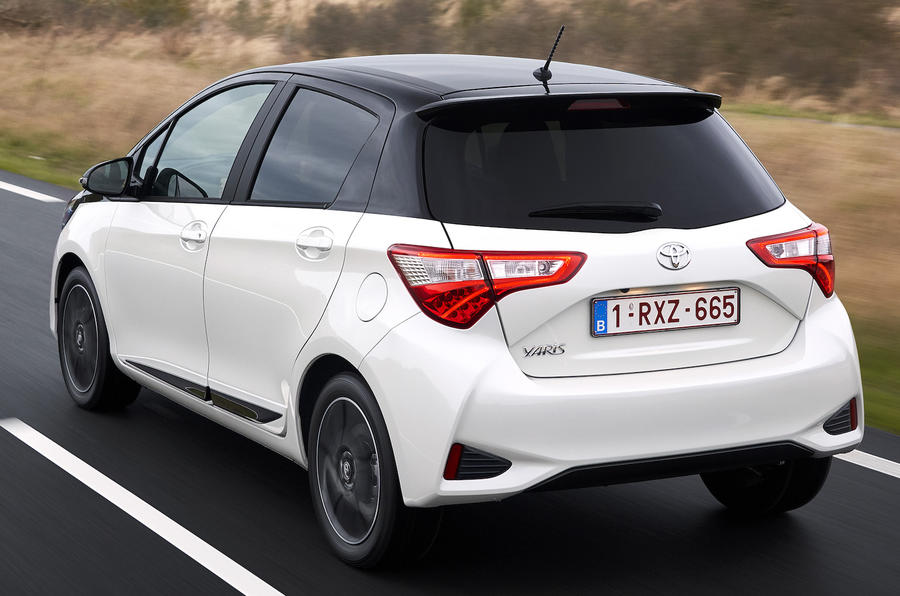 Toyota Yaris rear