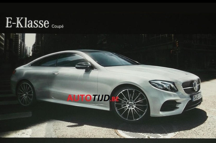 2017 mercedes benz e class coupe brochure leaked autocar for Mercedes benz e class brochure