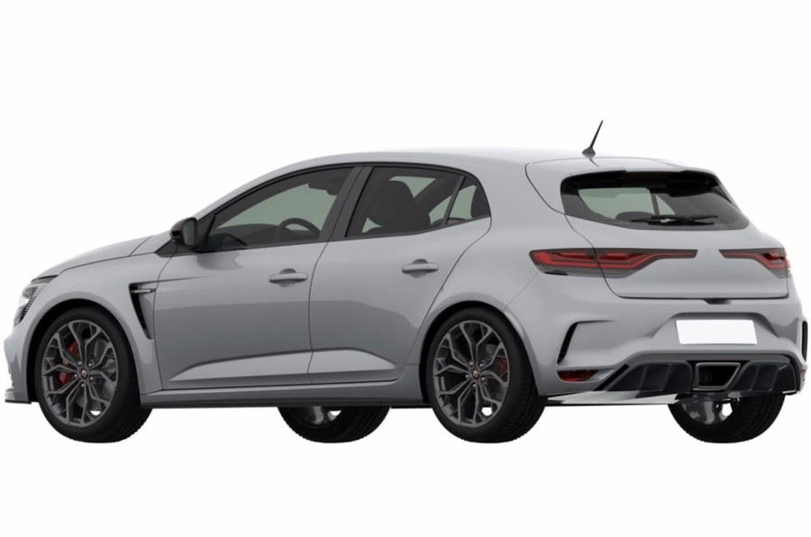2018 Renault Sport Mégane patents show conservative design
