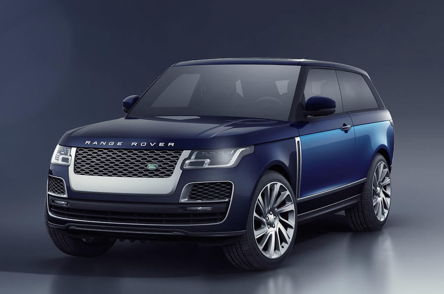 Range Rover SV Coupe revealed, some confirmed for Australia
