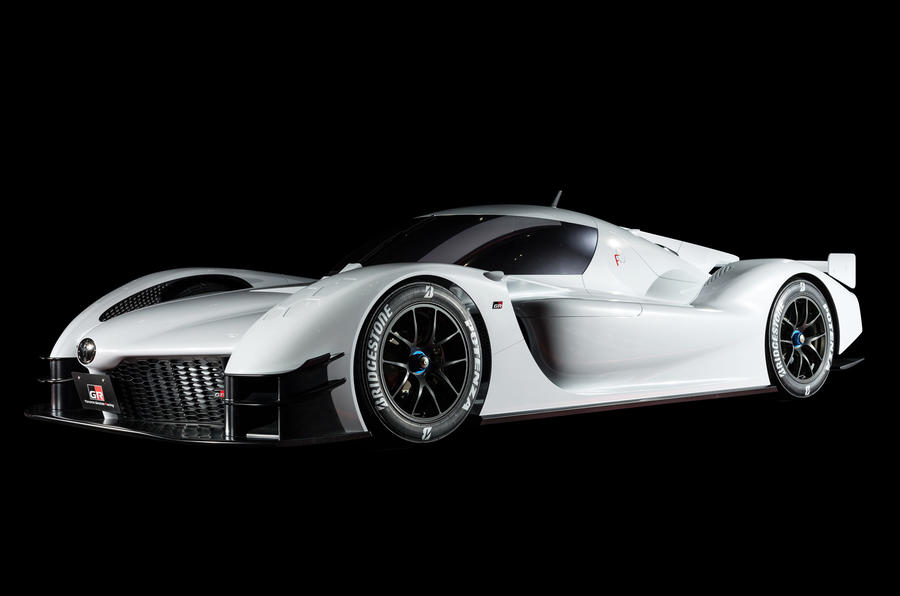 Toyota drops GR Super Sport Concept, a race vehicle for the road