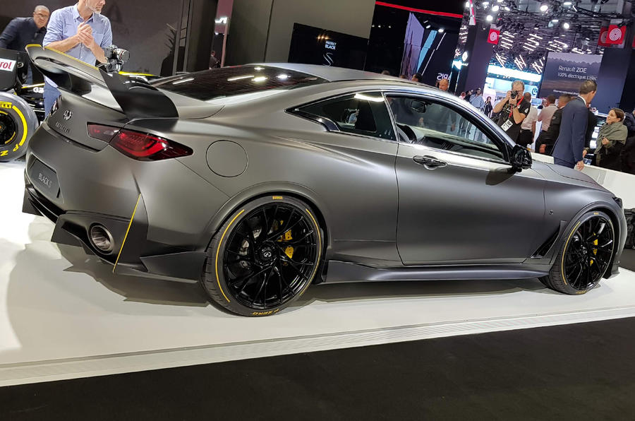 Infiniti Project Black S revealed with F1-style KERS hybrid power