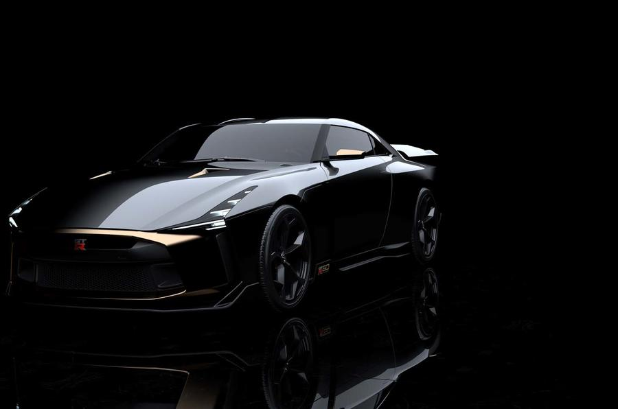 Nissan GT-R50 Prototype Breaks Cover, Comes with 700 PS