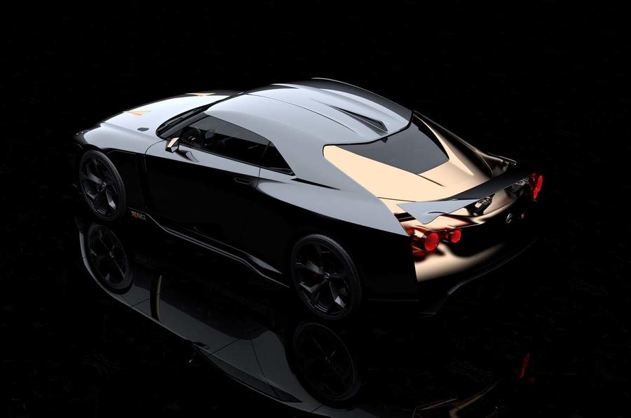 Nissan injects Italian design into sports vehicle  concept, creating GT-R50