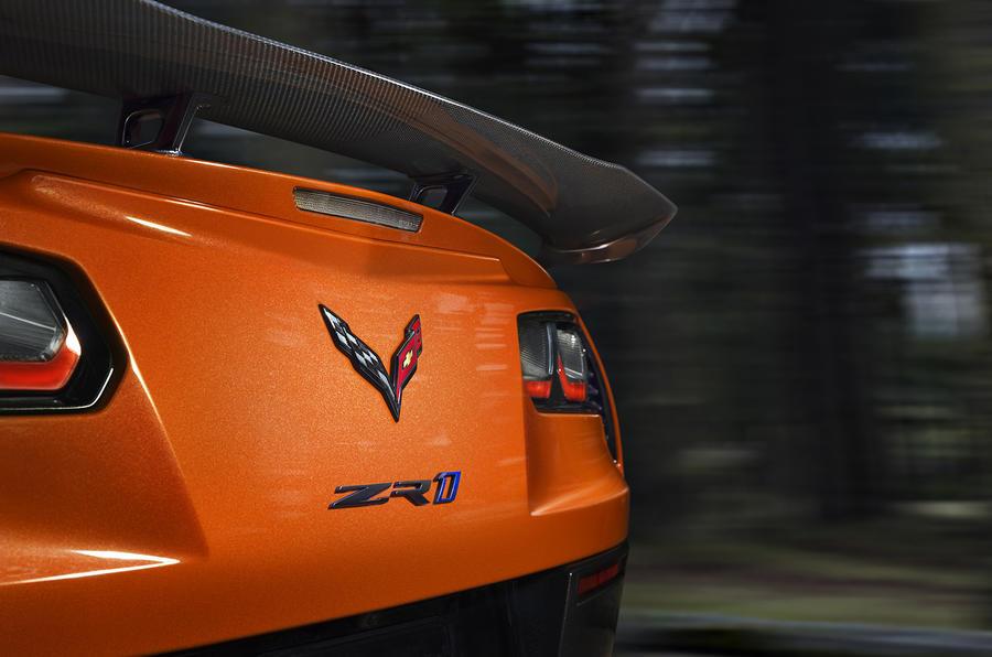 2018 Chevrolet Corvette ZR1 revealed