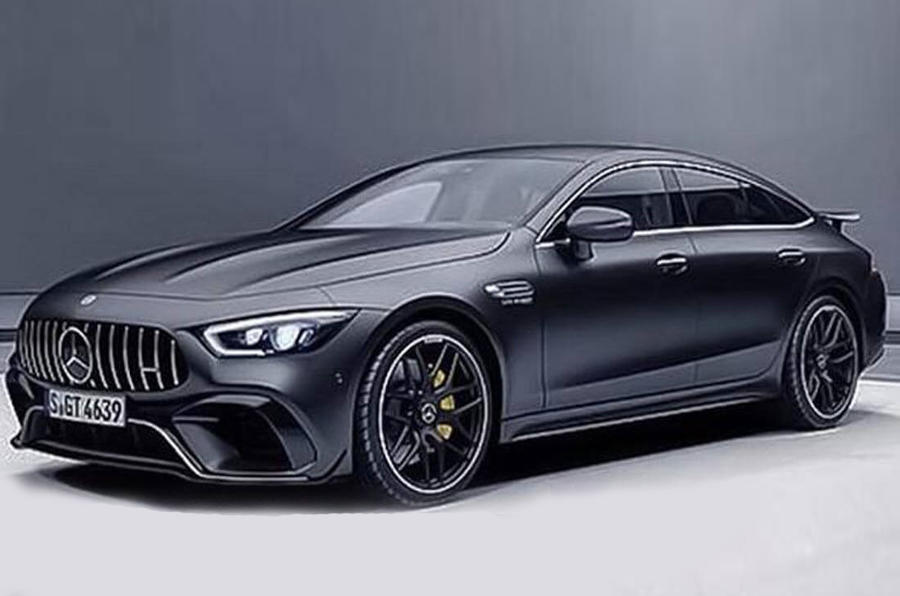 Mercedes-AMG GT four-door: leaked image uncovers 604bhp V8 model