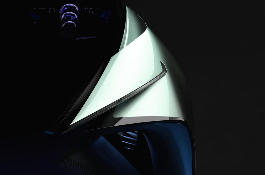 2019 Lexus concept - to be revealed at Tokyo motor show