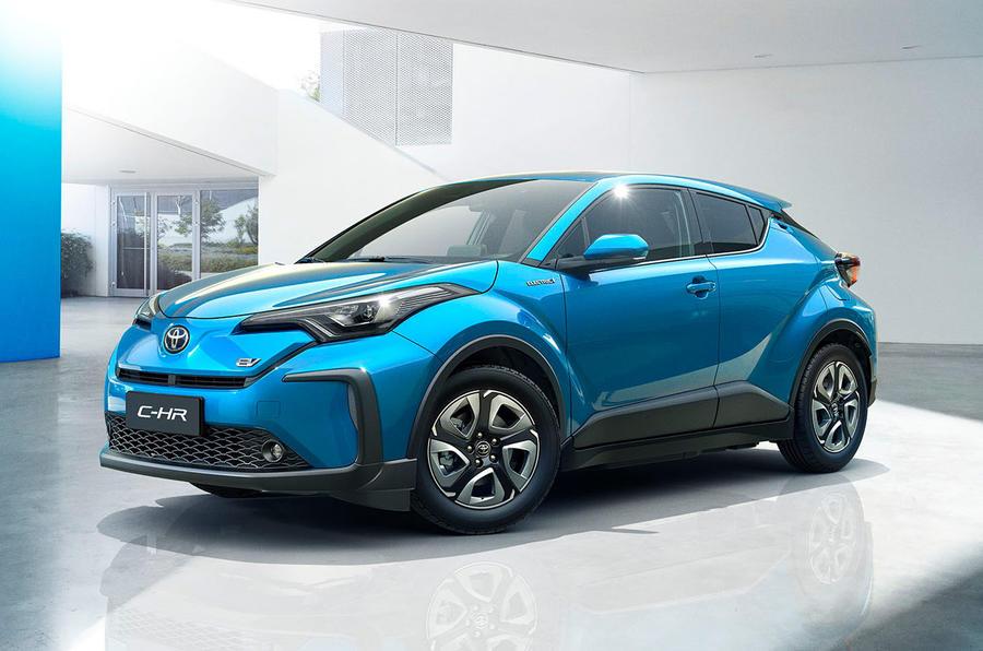 Toyota C-HR EV - front