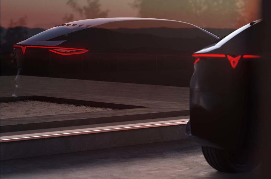 Cupra previews first all-electric model