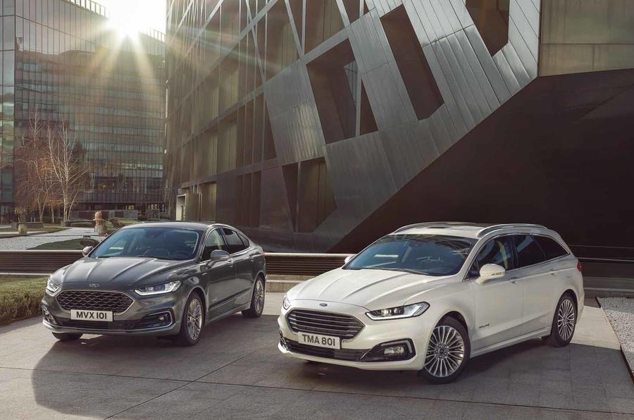 Updated Ford Mondeo range to include hybrid estate