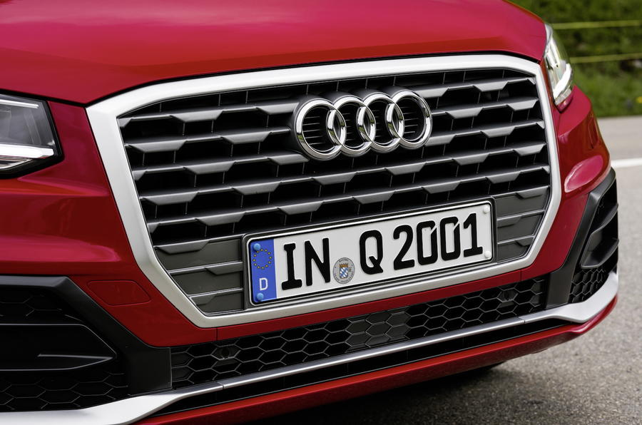 Audi Q2 front grille