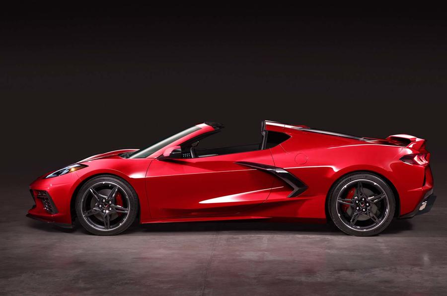 Corvette Stingray C8 official reveal - side