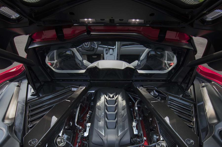 Mid-engined Chevrolet Corvette C8 Stingray arrives with ...
