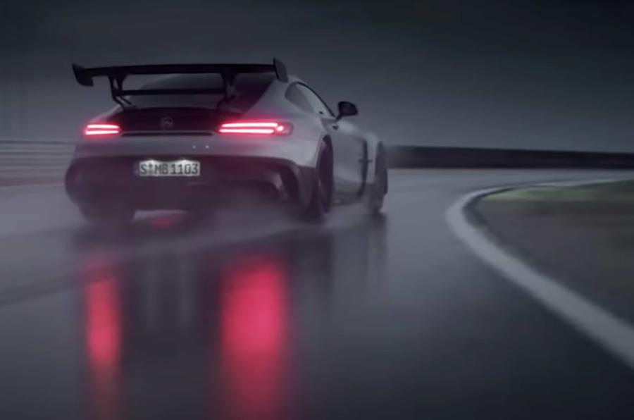 Mercedes-AMG Gt Black Series preview video rear