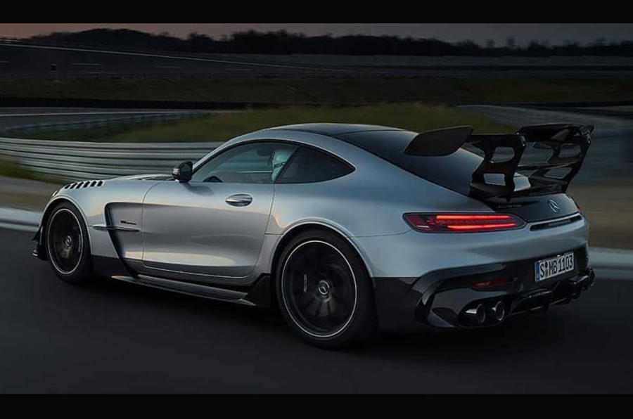 Mercedes-AMG Gt Black Series preview video