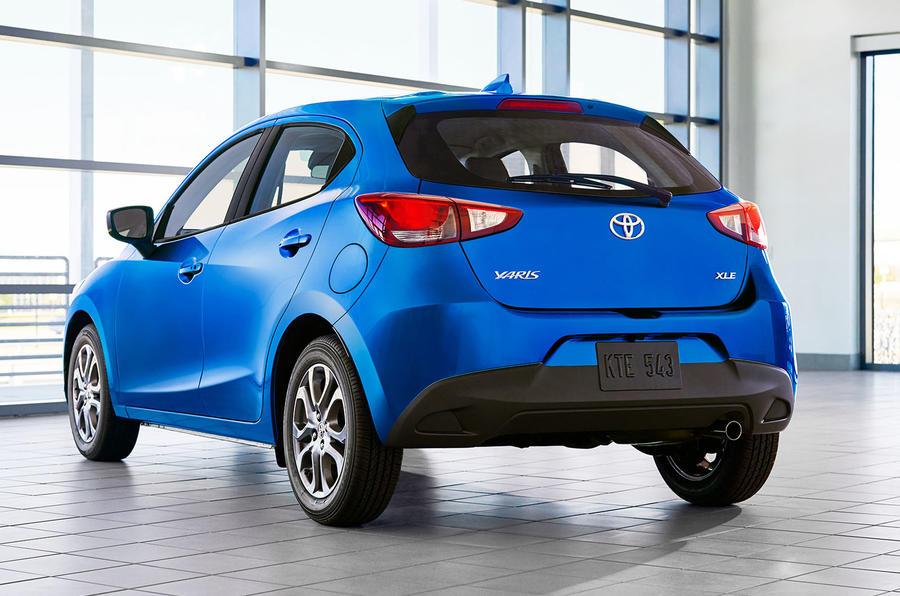 2020 US-spec Toyota Yaris - rear