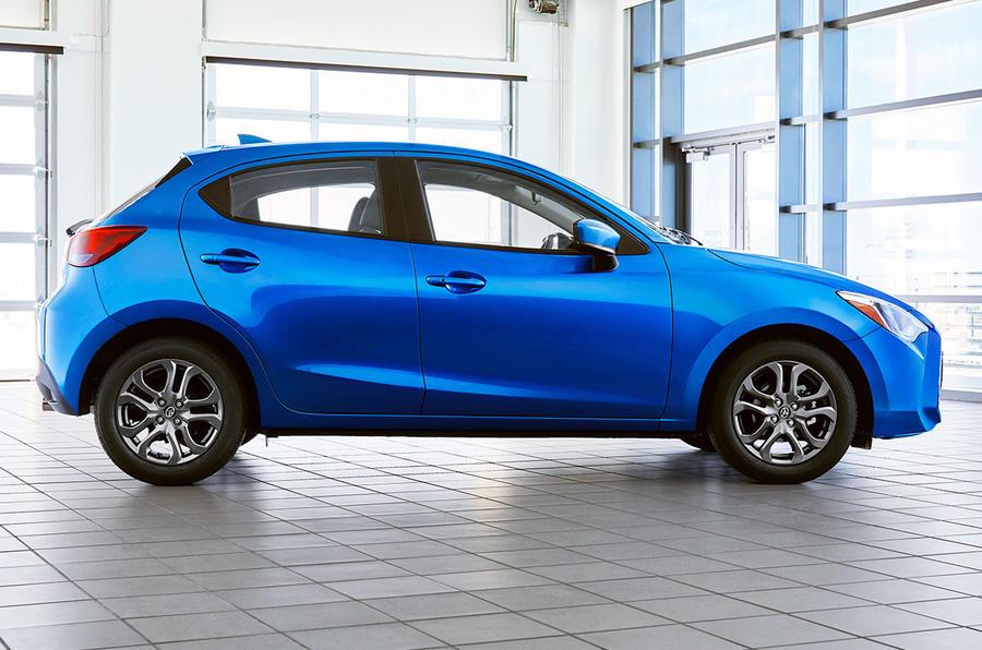 2020 US-spec Toyota Yaris - side