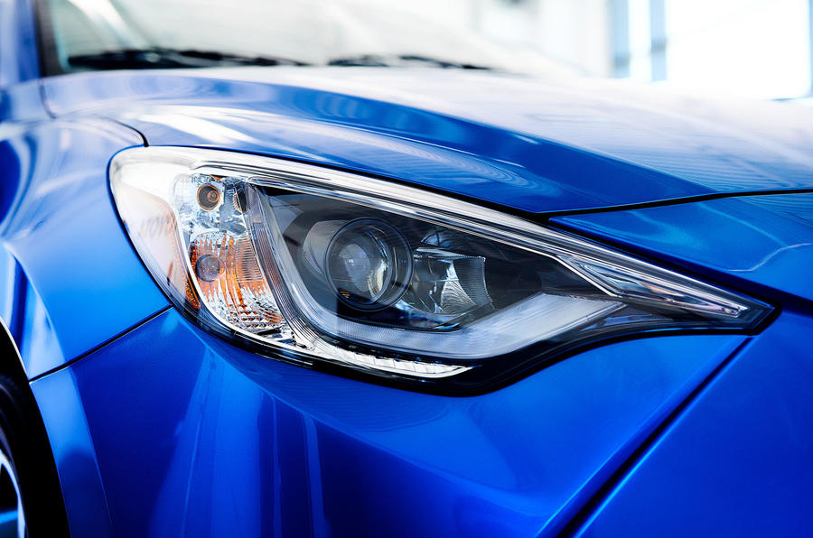 2020 US-spec Toyota Yaris - light