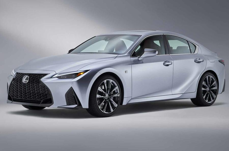 2021 Lexus IS front side
