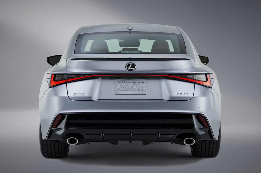 2021 Lexus IS rear