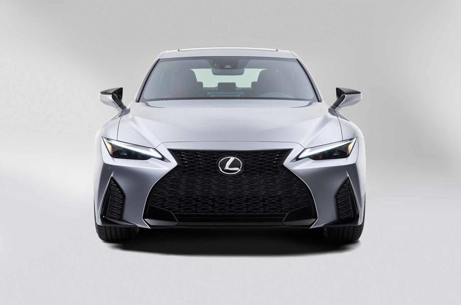 2021 Lexus IS front