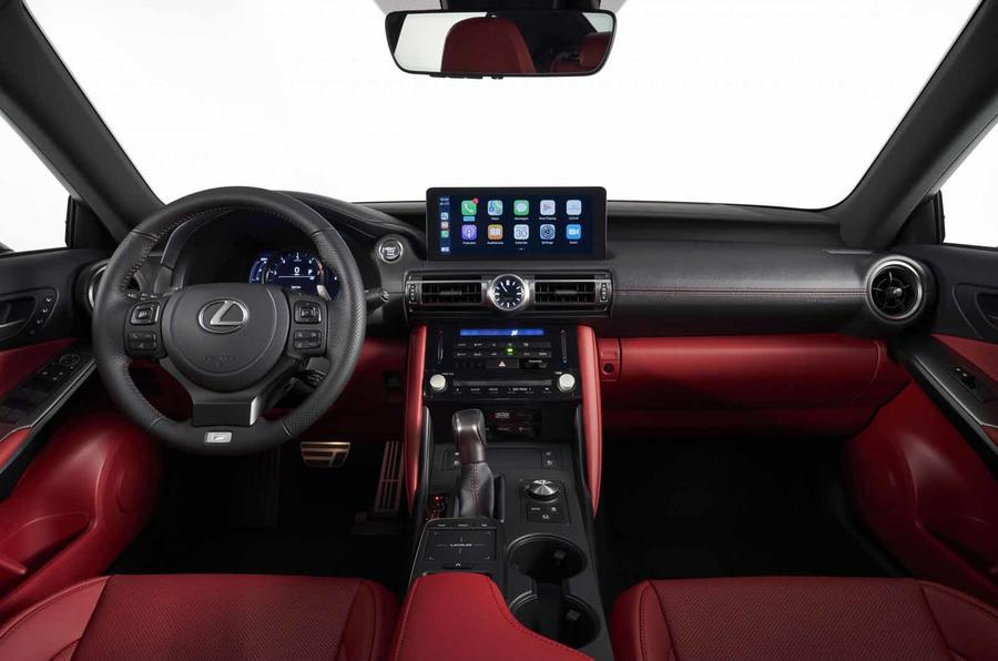 2021 Lexus IS cabin