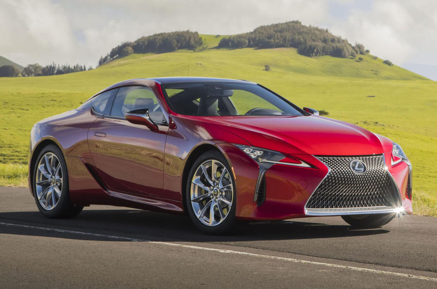lexus lc coupe loses weight and gains tech for 2020   autocar