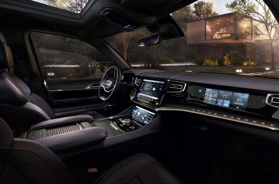 2020 Jeep Grand Wagoneer concept - interior