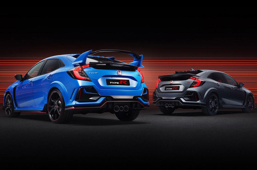 Honda Civic Type R GT and Sport Line