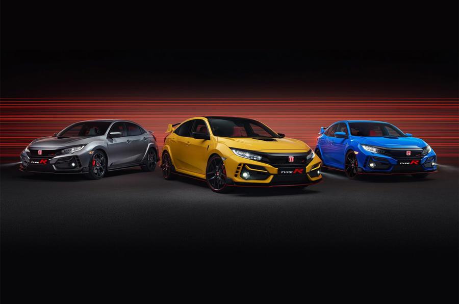 Honda Civic Type R family