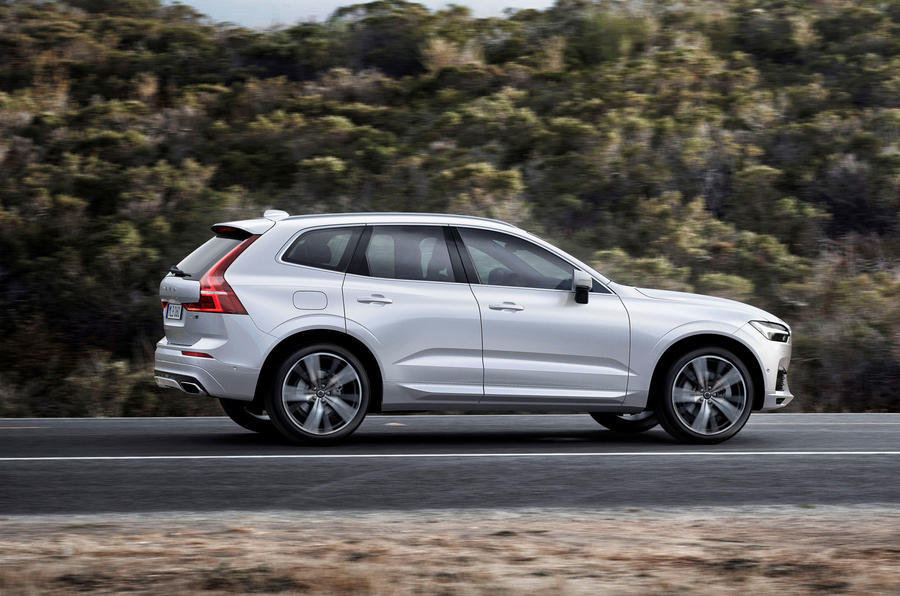 Volvo XC60 first ride