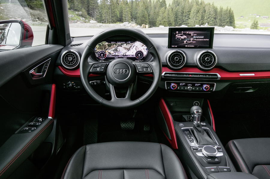 Audi Q2 dashboard