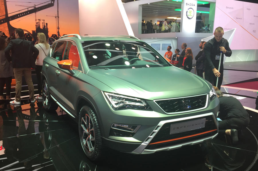 Seat Ateca X-Perience at the Paris motor show 2016 - show report and gallery