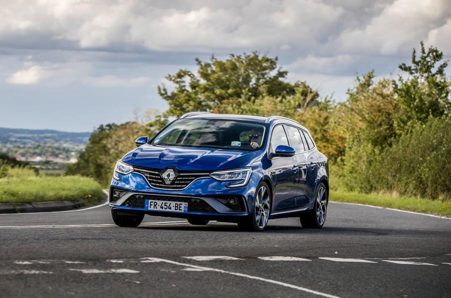 Renault Megane Sport Tourer E-Tech PHEV 2020 first drive review - cornering