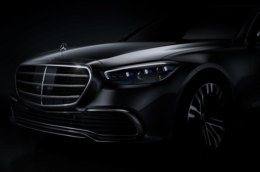 New Mercedes-Benz S-Class shows face as first official teaser drops!