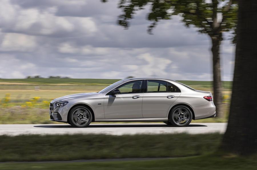 2020 Mercedes-Benz E300e - side