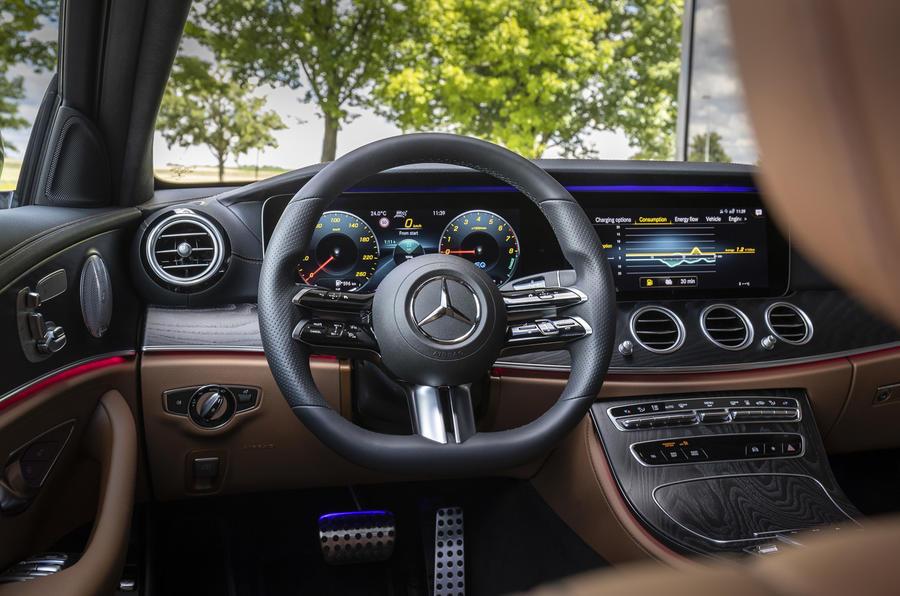 2020 Mercedes-Benz E300e - steering wheel