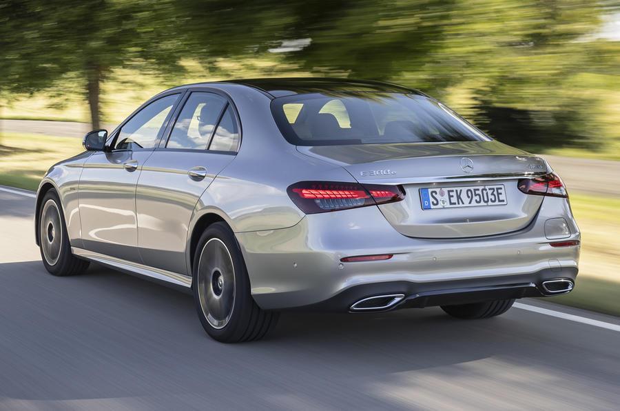2020 Mercedes-Benz E300e - rear