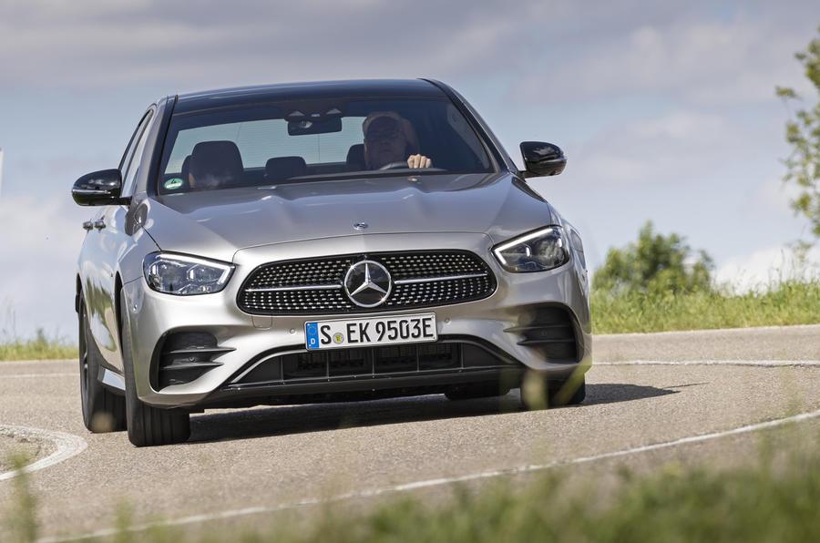 2020 Mercedes-Benz E300e - cornering front